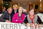 Celebrating the 95th Anniversary of the Pioneers Total Abstinence Association group in Cahersiveen on Saturday night were l-r; Michael Egan, Ann Egan, Mary Casey & Noreen Devane.