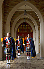 February 10, 2012; Irish Guards for the Notre Dame Magazine spring fashion issue. Photo by Barbara Johnston/University of Notre Dame