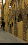 Narrow Medieval Street Florence