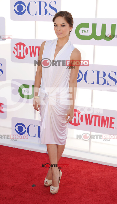 BEVERLY HILLS, CA - JULY 29: Kristin Kreuk arrives at the CBS, Showtime and The CW 2012 TCA summer tour party at 9900 Wilshire Blvd on July 29, 2012 in Beverly Hills, California. /NortePhoto.com<br />