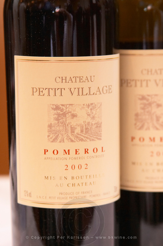 Chateau Petit Village, Pomerol, Bordeaux, France