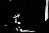 Krotoszyn 05.09.2010 Poland<br /> Aron Rozum, winner of seven medals at World and European Championships.Poles do not know much about sumo. Japan's national sport remains a mystery, except for the image of the very big and fat sumo wrestlers. However Polish sumo wrestlers have been, for many years, classified among world's leading sportsmen in this field. Since 1995 more and more followers join the sumo sections, fascinated with the art of fighting on the clay dohyo.<br /> Photo: Adam Lach / Napo Images<br /> <br /> Aron Rozum, zdobywca siedmiu medali na mistrzostwach swiata i europy.<br /> Polacy niewiele wiedza o sumo. Narodowy sport Japonii to wciaz tajemnica. Kojarzy sie jedynie z wielkimi i grubymi mezczyznami. Jednak zawodnicy z Polski od lat naleza do swiatowej czolowki w tej dyscyplinie. Od 1995 roku w sekcjach sumo przybywa zawodnik&oacute;w zafascynowanych zmaganiami na glinianym dohyo.<br /> Fot: Adam Lach / Napo Images
