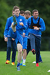 St Johnstone Training&hellip;22.07.16<br />Blair Alston and Tam Scobbie pictured during training this morning at McDiarmid Park ahead of tomorrows Betfred Cup game against their former team Falkirk.<br />Picture by Graeme Hart.<br />Copyright Perthshire Picture Agency<br />Tel: 01738 623350  Mobile: 07990 594431