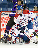 Justin Jokinen (Mankato - 14), Maury Edwards (Lowell - 7) - The visiting Minnesota State University-Mankato Mavericks defeated the University of Massachusetts-Lowell River Hawks 3-2 on Saturday, November 27, 2010, at Tsongas Arena in Lowell, Massachusetts.