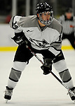 1 December 2007: Providence College Friars' forward Ben Farrer, a Freshman from Calgary, AB, in action against the University of Vermont Catamounts at Gutterson Fieldhouse in Burlington, Vermont. The Friars defeated the Catamounts 4-0 in front of a capacity crowd of 4003, for the 64th consecutive sell-out at Gutterson...Mandatory Photo Credit: Ed Wolfstein Photo