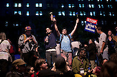 New York, New York<br /> October 14, 2011<br /> <br /> Owners of Zuccotti Park delayed a cleanup scheduled for Friday morning, averting a feared showdown between the police and the Occupy Wall Street demonstrators. <br /> <br /> Protesters, who have been occupying the park for three weeks, performed an intense clean up in the park as some held firm to stay while others appeared to be ready to move out.<br /> <br /> When the postponement was announced at 7AM the crowd surged and small bands marched towards Wall Street where the police arrested several in the crowd and the financial district became chaotic.<br /> <br /> The participants of the event, that began on September 17, are mainly protesting against social and economic inequality, corporate greed, and the influence of corporate money and lobbyists on government, among other concerns.