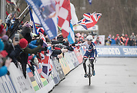 Thomas Pidcock (GBR) wins the Mens Junior Race<br /> <br /> UCI 2017 Cyclocross World Championships Bieles/Luxemburg