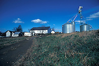 Lancaster county farm house silos