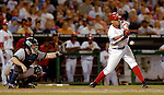 16 June 2006: Royce Clayton, shortstop for the Washington Nationals, in action against the New York Yankees at RFK Stadium, in Washington, DC. The Yankees defeated the Nationals 7-5 in the first meeting of the two franchises...Mandatory Photo Credit: Ed Wolfstein Photo...