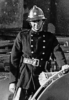 Fireman Lexie Wylie who died in blaze which completely destoyed the Melville Hotel, Foyle Street, Londonderry, N Ireland. 197111000467LW<br /> <br /> Copyright Image from Victor Patterson, 54 Dorchester Park, Belfast, UK, BT9 6RJ<br /> <br /> Tel: +44 28 9066 1296<br /> Mob: +44 7802 353836<br /> Voicemail +44 20 8816 7153<br /> Email: victorpatterson@me.com<br /> Email: victorpatterson@gmail.com<br /> <br /> IMPORTANT: My Terms and Conditions of Business are at www.victorpatterson.com