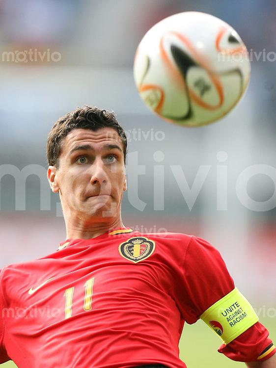 Fussball   International   U21-Europameisterschaft Maarten MARTENS (Belgien), Einzelaktion am Ball