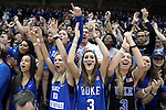 11 November 2016: Duke fans, known as Cameron Crazies. The Duke University Blue Devils hosted the Marist College Red Foxes at Cameron Indoor Stadium in Durham, North Carolina in a 2016-17 NCAA Division I Men's Basketball game. Duke won the game 94-49.