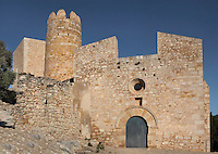 Medieval castle of Ulldecona, 12th century, Ulldecona, Montsia, Tarragona, Spain. Picture by Manuel Cohen