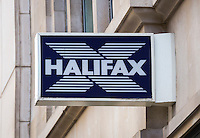 Halifax Building Society Sign - Aug 2013.