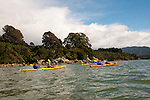 New Zealand, South Island: Kayaking from Kaiteriteri along the Abel Tasman National Park coast. Photo copyright Lee Foster. Photo # newzealand125015