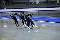 SCHAATSEN: IJSSTADION THIALF: 11-06-2013, Training zomerijs, Team BrandLoyalty, ©foto Martin de Jong