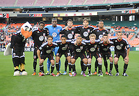 DC United starting elven.  DC United defeated The Seattle Sounders 2-1, at RFK Stadium, Wednesday  May 4, 2011.
