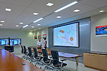 Architectural interior image of Raytheon offices in Aberdeen MD by Jeffrey Sauers of Commercial Photographics