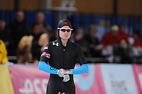 SCHAATSEN: BERLIJN: Sportforum, 06-12-2013, Essent ISU World Cup, 500m Men Division A, Tucker Fredricks (USA), ©foto Martin de Jong