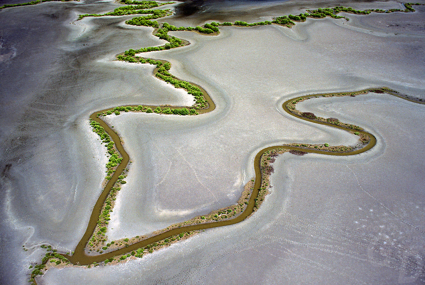 AERIAL OF COASTAL FLOOD PLAINS