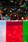 Christmas Lights and Gift Bags