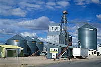 Grain elevator and silos Wall South Dakota.
