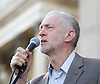 Jeremy Corbyn speak at the Greece Solidarity Campaign Rally in Trafalgar Square London, Great Britain 29th June 2015 <br /> <br /> Greece Solidarity Campaign Rally<br /> <br /> <br /> Photograph by Elliott Franks <br /> Image licensed to Elliott Franks Photography Services