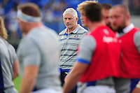 Bath Director of Rugby Todd Blackadder looks on during the pre-match warm-up. Pre-season friendly match, between Leinster Rugby and Bath Rugby on August 26, 2016 at Donnybrook Stadium in Dublin, Republic of Ireland. Photo by: Patrick Khachfe / Onside Images