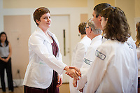 Kristi Kilpatrick. Class of 2017 White Coat Ceremony.