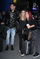 NEW YORK, NY November 23: Gleb Savchenko, Jane Kramer, Shams Burgess winner of Dancing with Stars 2016 at Good Morning America in New York City.November 23, 2016. Credit:RW/MediaPunch