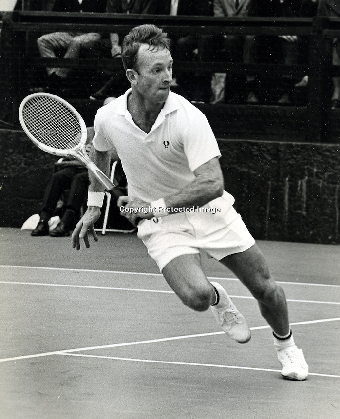 Tennis star Rod Laver (1967 photo by Ron Riesterer)