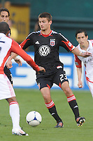 D.C. United midfielder Perry Kitchen (23) D.C. United defeated Toronto FC 3-1 at RFK Stadium, Saturday May 19, 2012.