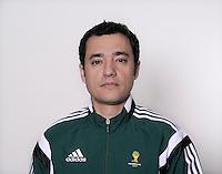 FUSSBALL Fototermin FIFA WM Schiedsrichterassistenten 09.04.2014 Bertino MIRANDA (Portugal)