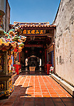 Colorful Three Mountain Kings Temple, San Shan Guo Wang Miao, Lugang, Changhua County, Taiwan