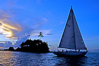 Sailing PALAU and the Rock islands,
