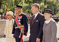 King Harald, and Queen Sonja of Norway, State Visit to Latvia
