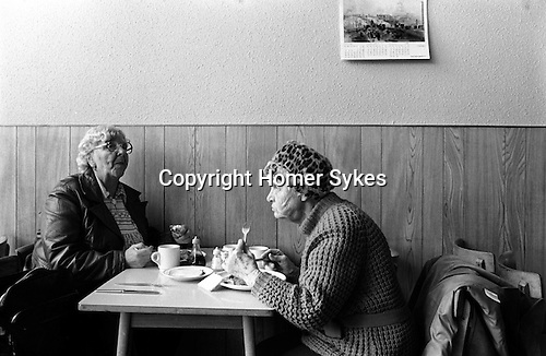 Saltaire near Shipley Bradford West Yorkshire England 1981. World Heritage Site