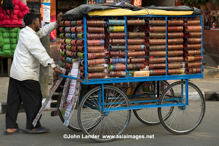 Street vendors are a common sight in the towns and cities ...