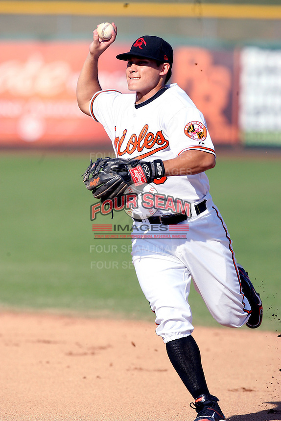 Greg Miclat - Scottsdale Scorpions - 2010 Arizona Fall League.Photo by:  Bill Mitchell/Four Seam Images..