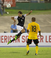 Kingston, Jamaica - Friday, June 7, 2013: USMNT 2-1 over Jamaica  during World Cup qualifying at the National Stadium.