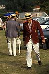 The English summer social season. The annual Henley Royal Rowing Regatta. Henley on Thames, Berkshire, England
