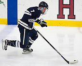 Joe Snively (Yale - 7) - The Harvard University Crimson defeated the Yale University Bulldogs 6-4 in the opening game of their ECAC quarterfinal series on Friday, March 10, 2017, at Bright-Landry Hockey Center in Boston, Massachusetts.