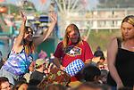 Audience at Blue Oyster Cult at Santa Cruz Beach Boardwalk