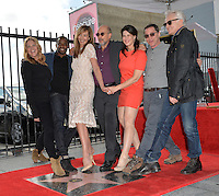 LOS ANGELES, CA. October 17, 2016: Mary McCormack &amp; Dule Hill &amp; Allison Janney &amp; Richard Schiff &amp; Melissa Fitzgerald &amp; Joshua Malina &amp; Bradley Whitford at the Hollywood Walk of Fame Star ceremony honoring actress Allison Janney.<br /> Picture: Paul Smith/Featureflash/SilverHub 0208 004 5359/ 07711 972644 Editors@silverhubmedia.com
