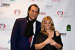 "Astoria's own Robert Davi, director of ""The Dukes"" with Marie J. Plante-Castaldo, founder of the Queens International Film Festival"