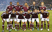 CARSON, CA – September 9, 2011: Colorado Rapid starting line-up for the match between LA Galaxy and Colorado Rapids at the Home Depot Center in Carson, California. Final score LA Galaxy 1, Colorado Rapids 0.