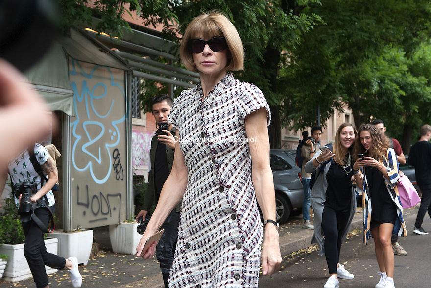 Milan Fashion Week SS17 Outside the Catwalk