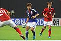 Yuki Abe (JPN), Koo Ja-Cheol (KOR),AUGUST 10, 2011 - Football / Soccer :Kirin Challenge Cup 2011 match between Japan 3-0 South Korea at Sapporo Dome in Sapporo, Hokkaido, Japan. (Photo by Takamoto Tokuhara/AFLO)