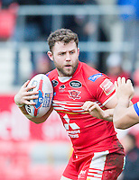 Picture by Allan McKenzie/SWpix.com - 04/03/2017 - Rugby League - Betfred Super League - Salford Red Devils v Warrington Wolves - AJ Bell Stadium, Salford, England - Olsi Krasniqi.