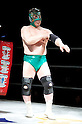 The Gran Hamada, MARCH 25, 2012 - Pro Wrestling: Fukumen Mania event at 1st Ring Shinkiba in Tokyo, Japan.